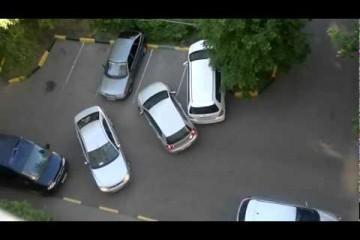 Einparken kann sehr schwer sein