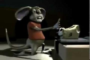 Die Maus will den Käse