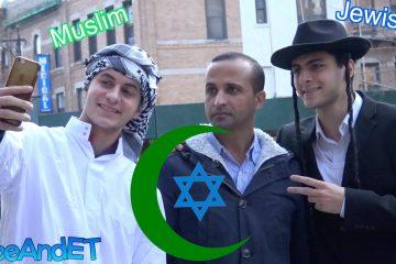 Moslem und Jude sind Freunde