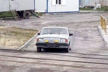 Ein russischer Bus